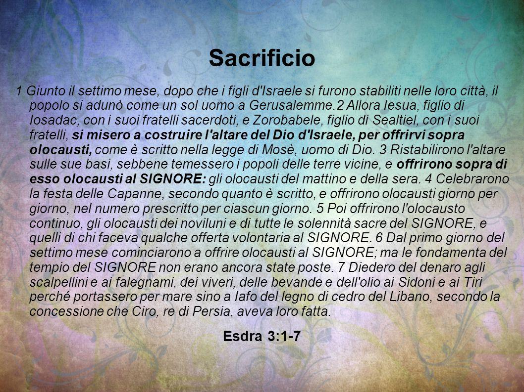 Sacrificio