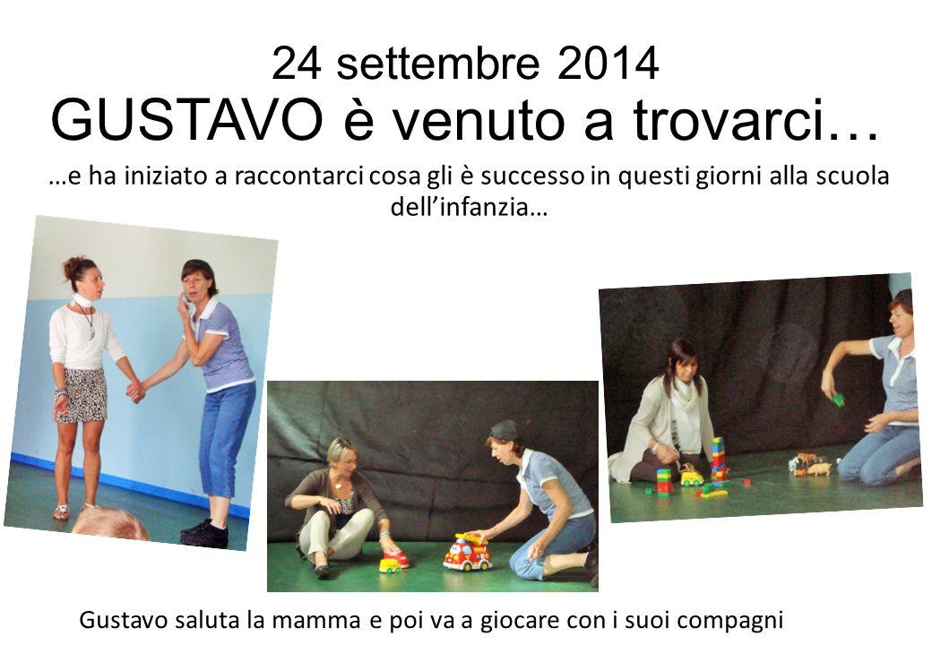 24 settembre 2014 GUSTAVO è venuto a trovarci…