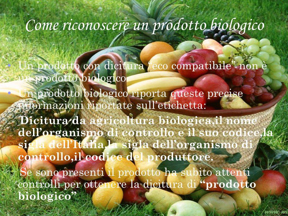 Come riconoscere un prodotto biologico
