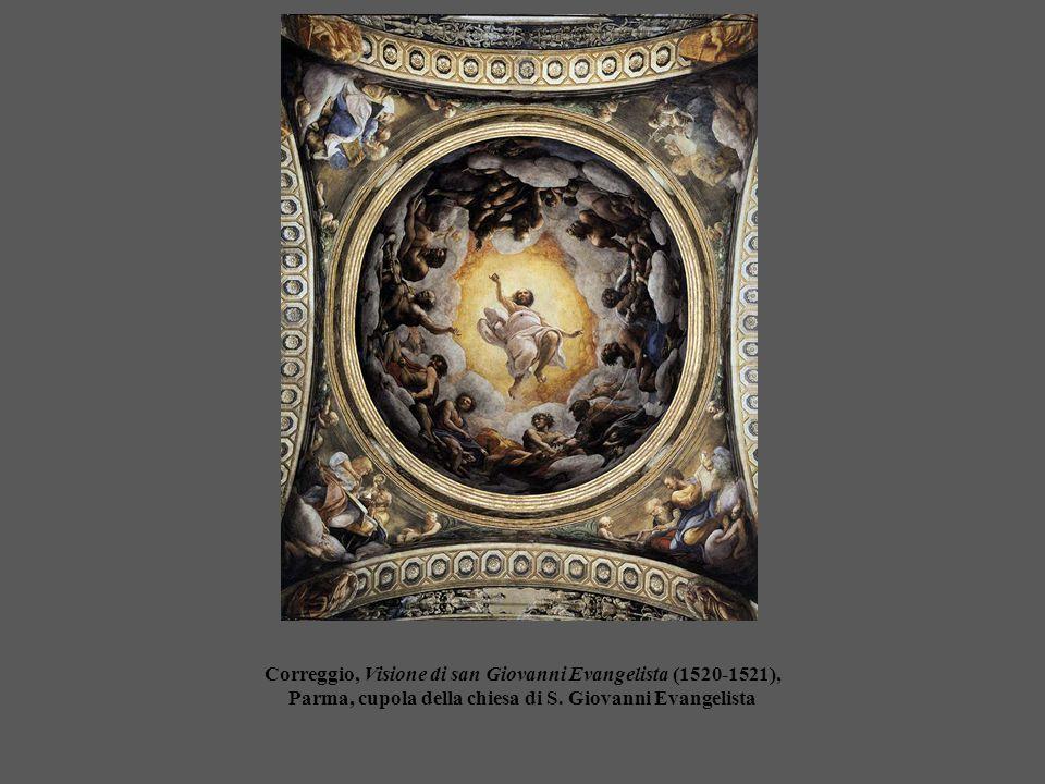 Correggio, Visione di san Giovanni Evangelista (1520-1521), Parma, cupola della chiesa di S.
