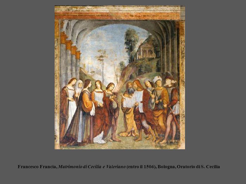 Francesco Francia, Matrimonio di Cecilia e Valeriano (entro il 1506), Bologna, Oratorio di S.