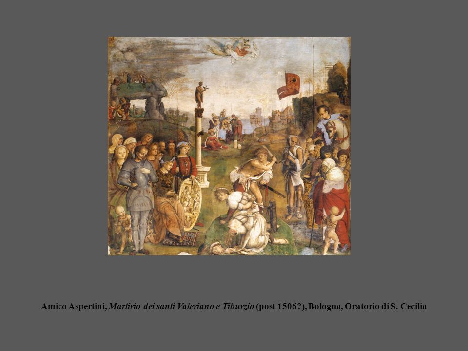 Amico Aspertini, Martirio dei santi Valeriano e Tiburzio (post 1506