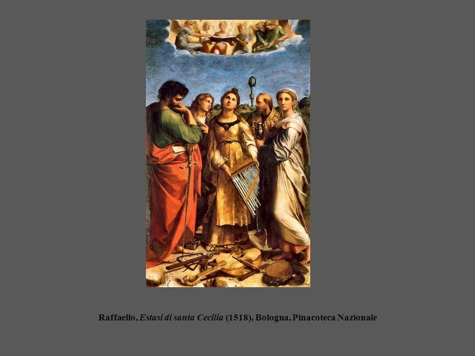 Raffaello, Estasi di santa Cecilia (1518), Bologna, Pinacoteca Nazionale