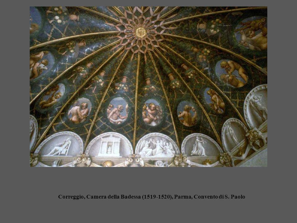 Correggio, Camera della Badessa (1519-1520), Parma, Convento di S