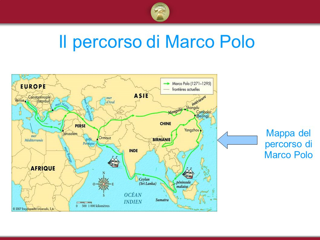 Il percorso di Marco Polo