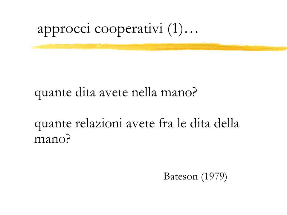 approcci cooperativi (1)…