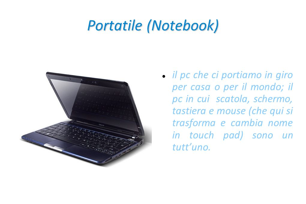 Portatile (Notebook)