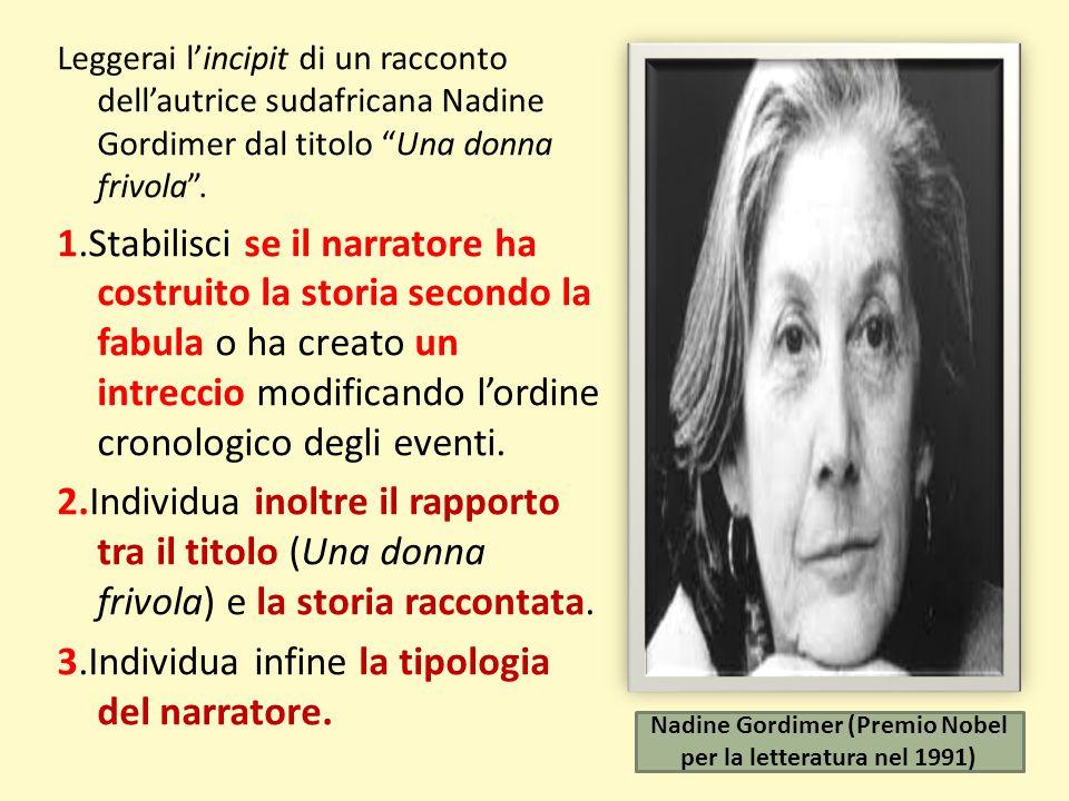 Nadine Gordimer (Premio Nobel per la letteratura nel 1991)