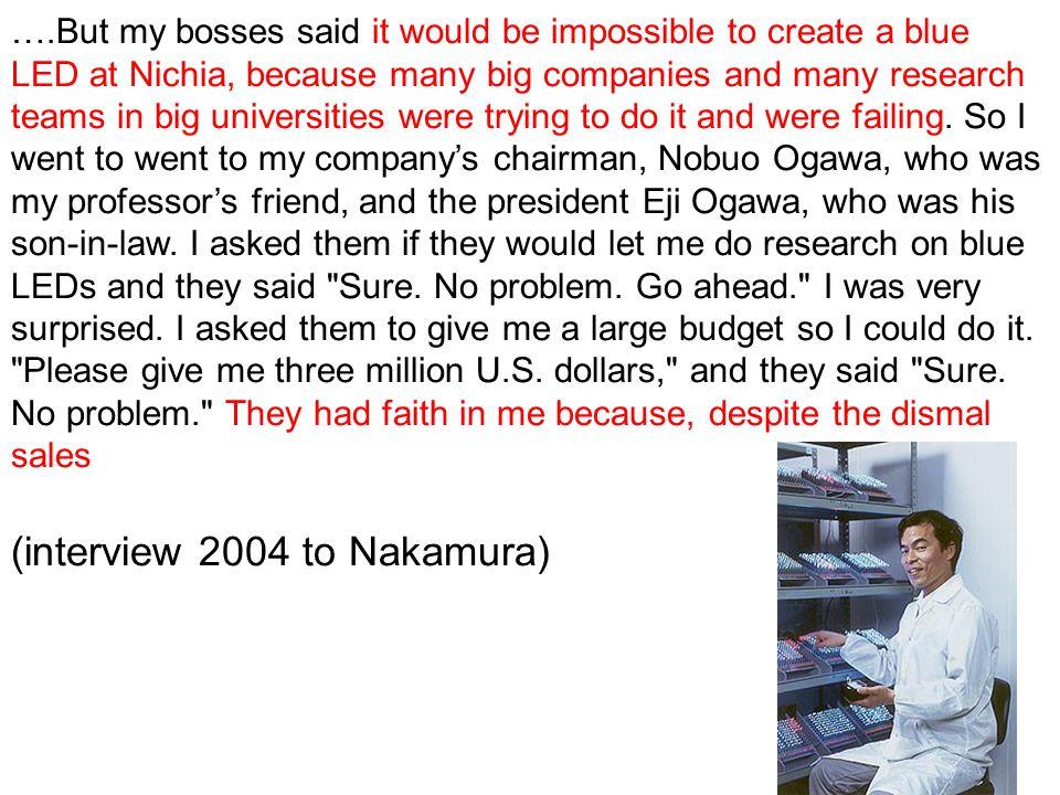 (interview 2004 to Nakamura)