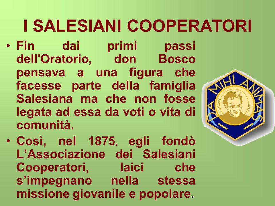 I SALESIANI COOPERATORI