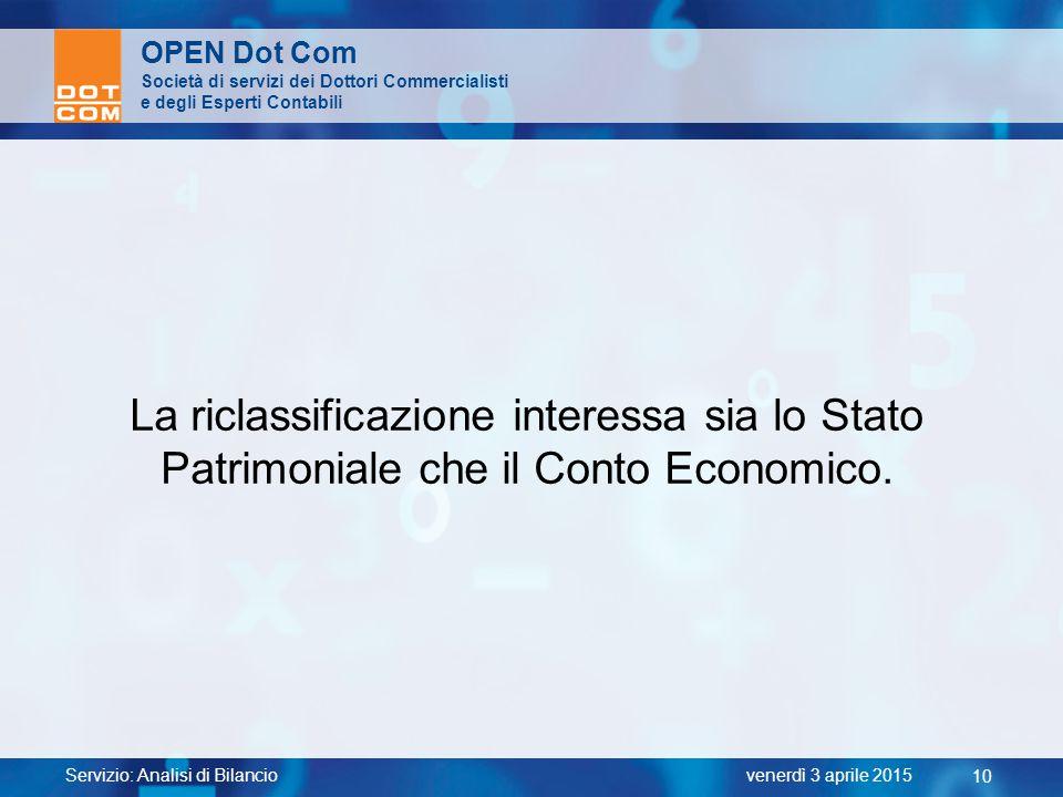 OPEN Dot Com Società di servizi dei Dottori Commercialisti. e degli Esperti Contabili.