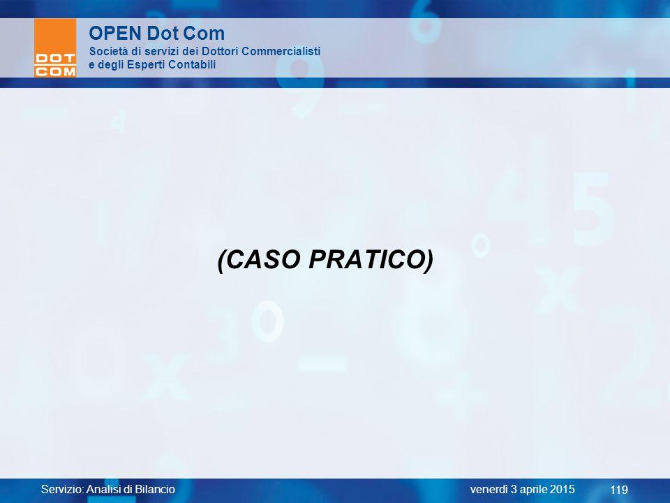 (CASO PRATICO) OPEN Dot Com