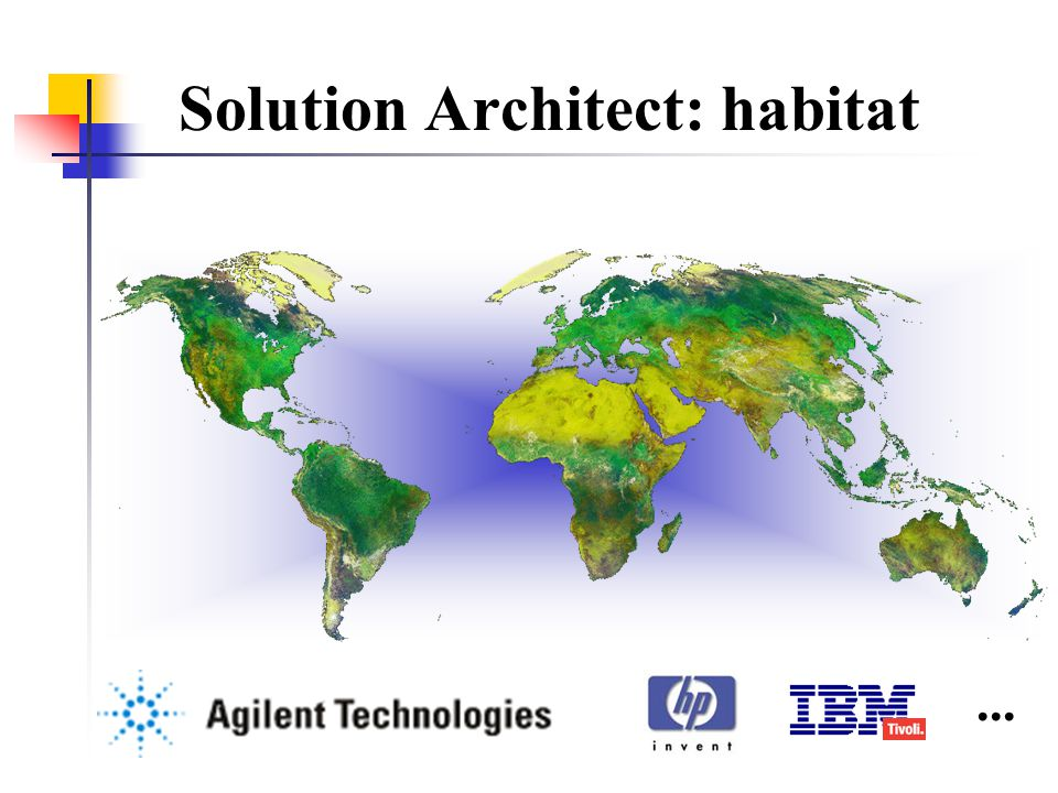 Solution Architect: habitat