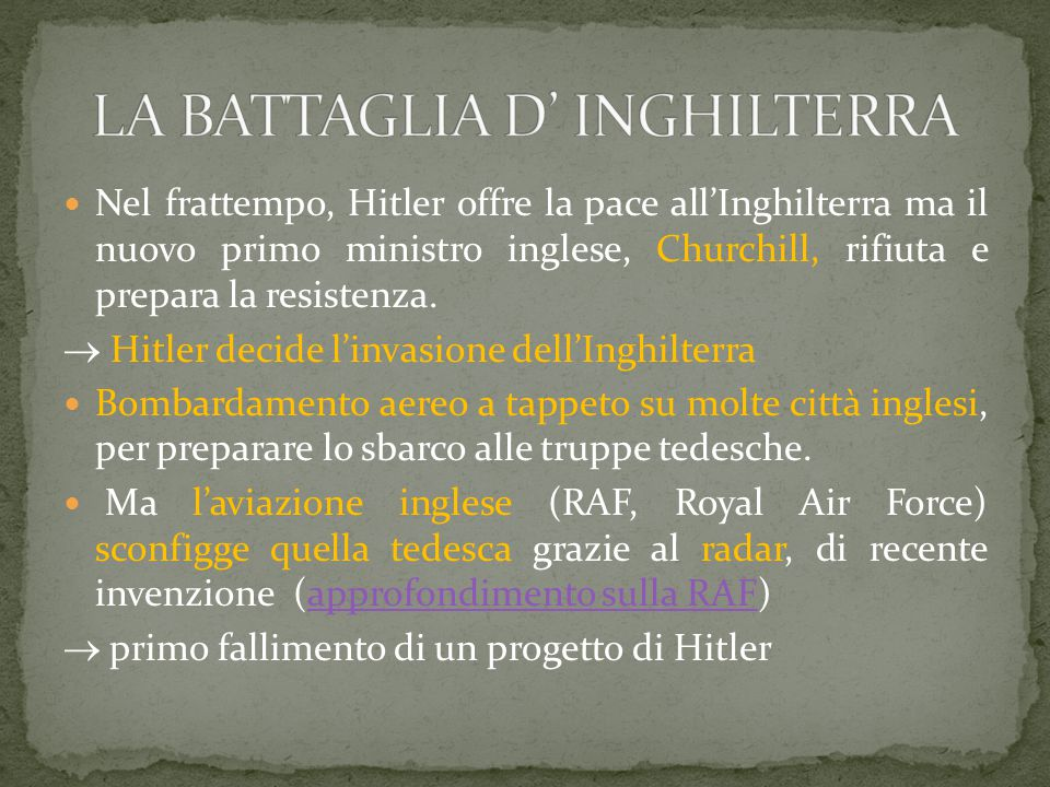 La seconda guerra mondiale ppt video online scaricare for Nuovo design per l inghilterra