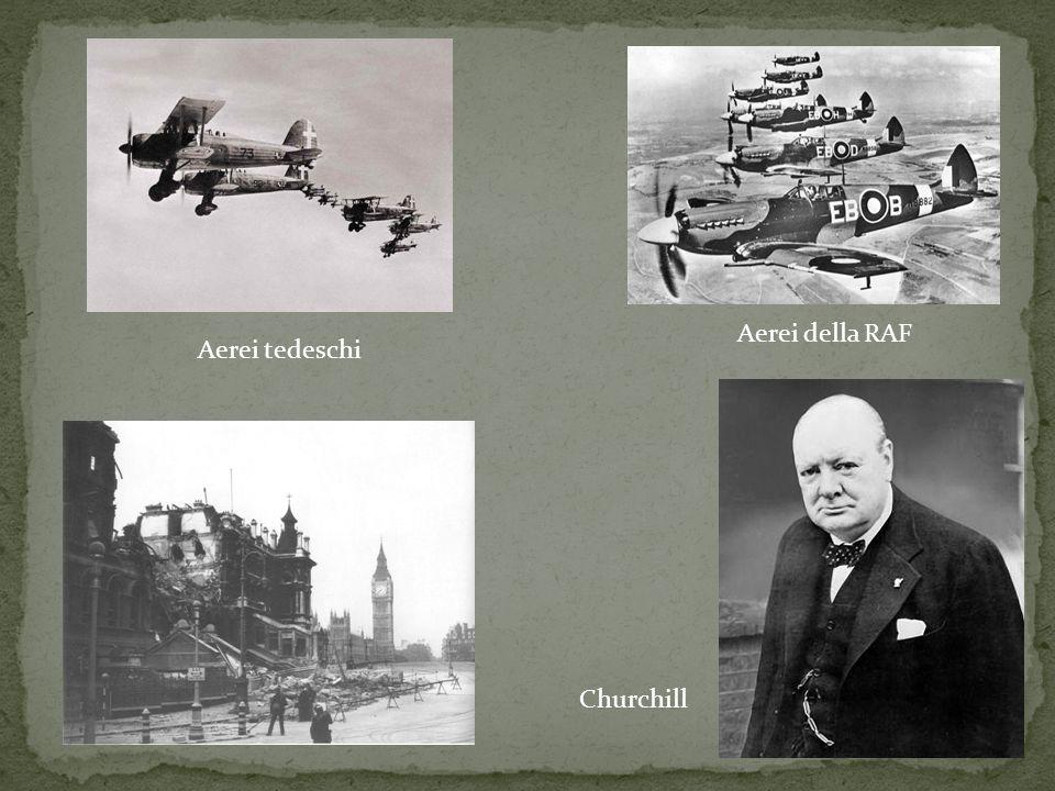 Aerei della RAF Aerei tedeschi Churchill