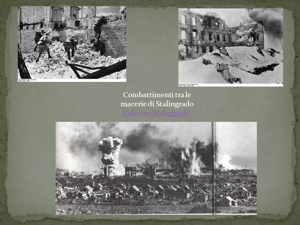 Combattimenti tra le macerie di Stalingrado