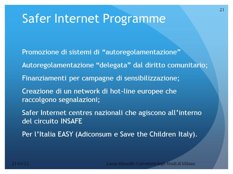 Safer Internet Programme