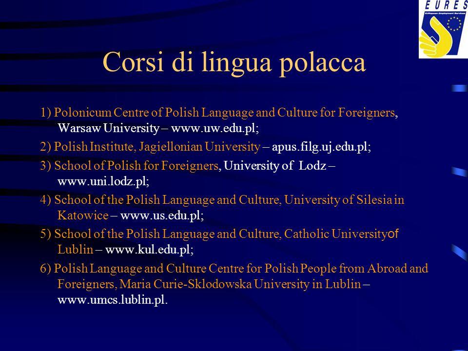 Corsi di lingua polacca