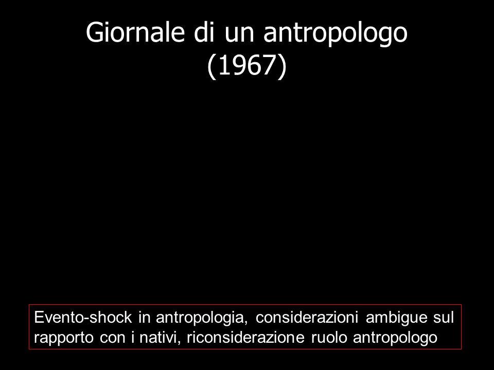 Giornale di un antropologo (1967)
