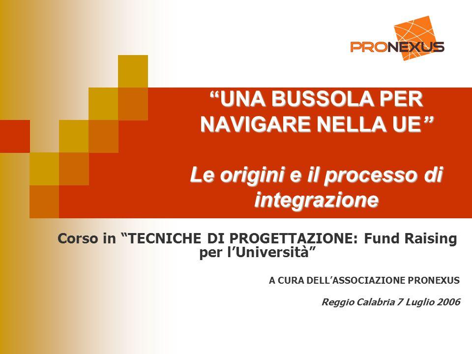 Corso in TECNICHE DI PROGETTAZIONE: Fund Raising per l'Università