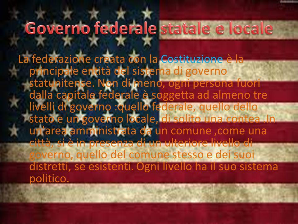 Governo federale statale e locale