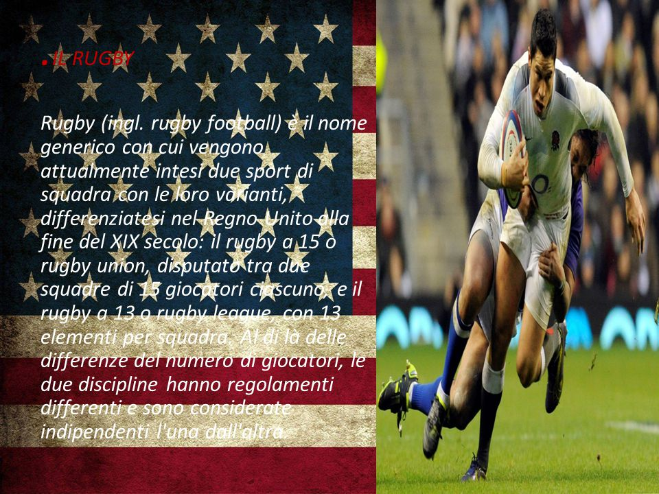 .IL RUGBY