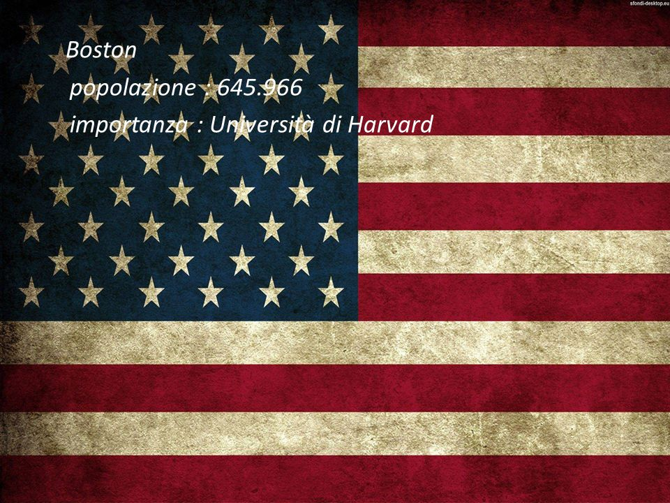 importanza : Università di Harvard