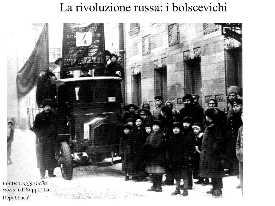 La rivoluzione russa: i bolscevichi