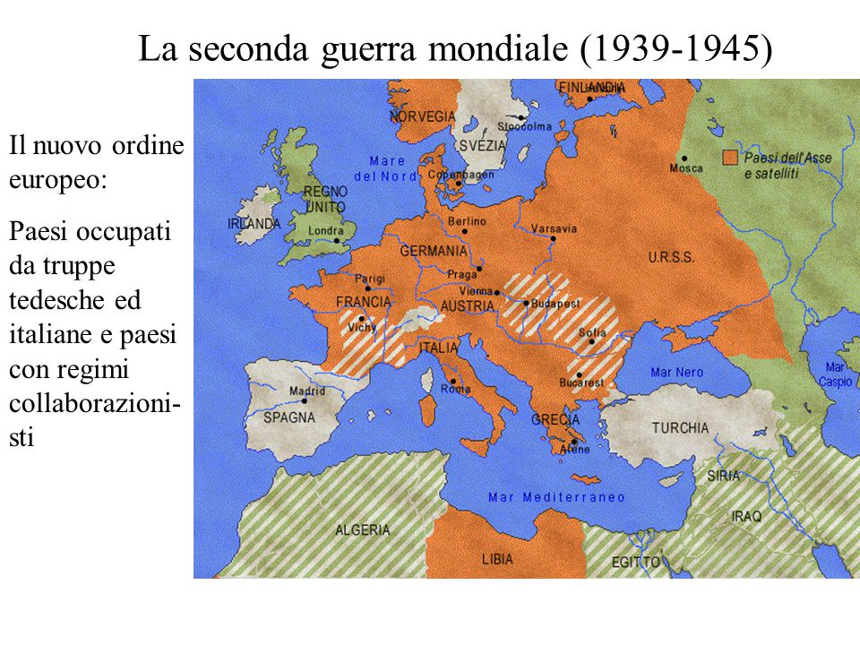 La seconda guerra mondiale (1939-1945)