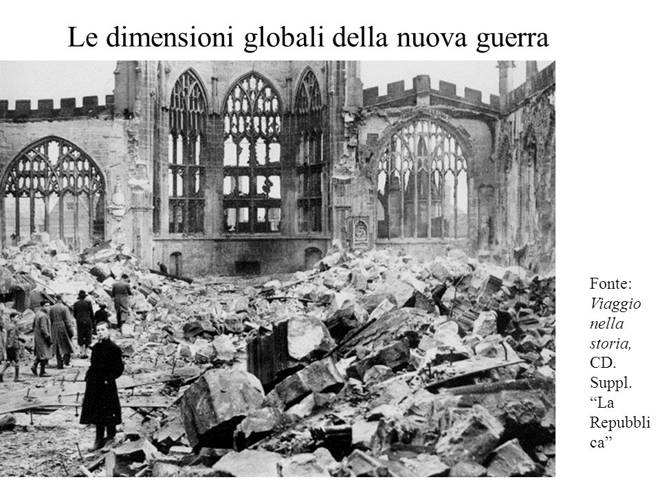 Le dimensioni globali della nuova guerra