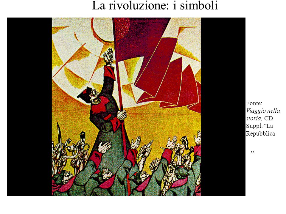 La rivoluzione: i simboli
