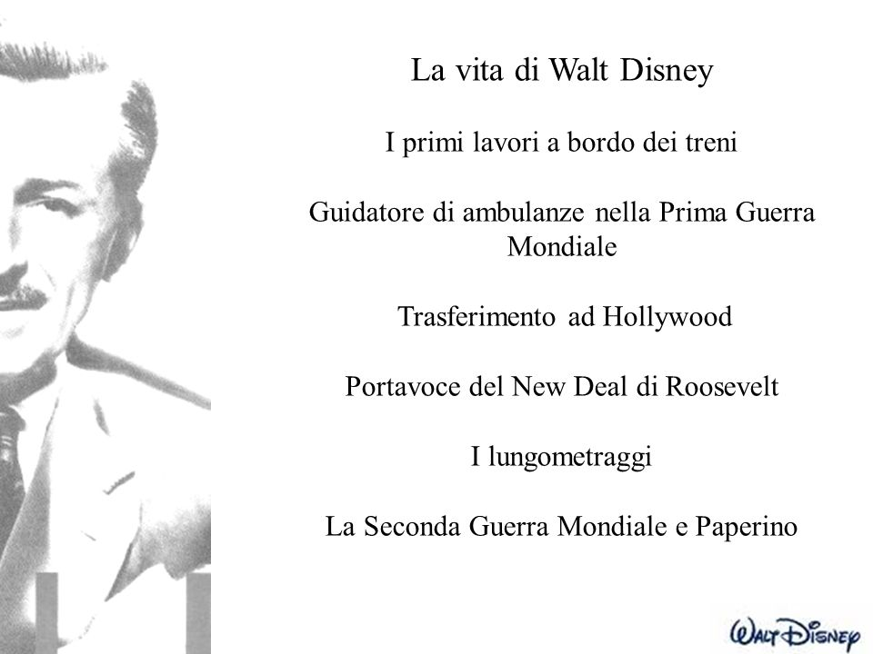 La vita di Walt Disney I primi lavori a bordo dei treni