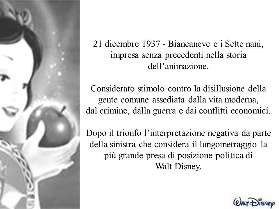 21 dicembre 1937 - Biancaneve e i Sette nani,