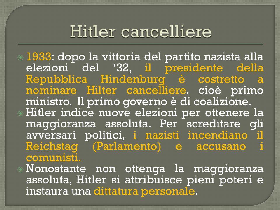 Hitler cancelliere