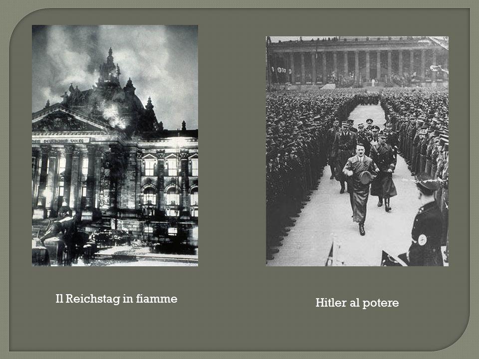 Il Reichstag in fiamme Hitler al potere