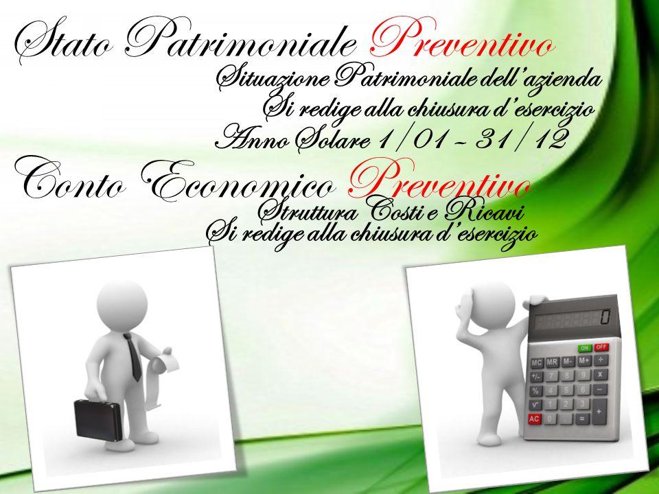 Stato Patrimoniale Preventivo