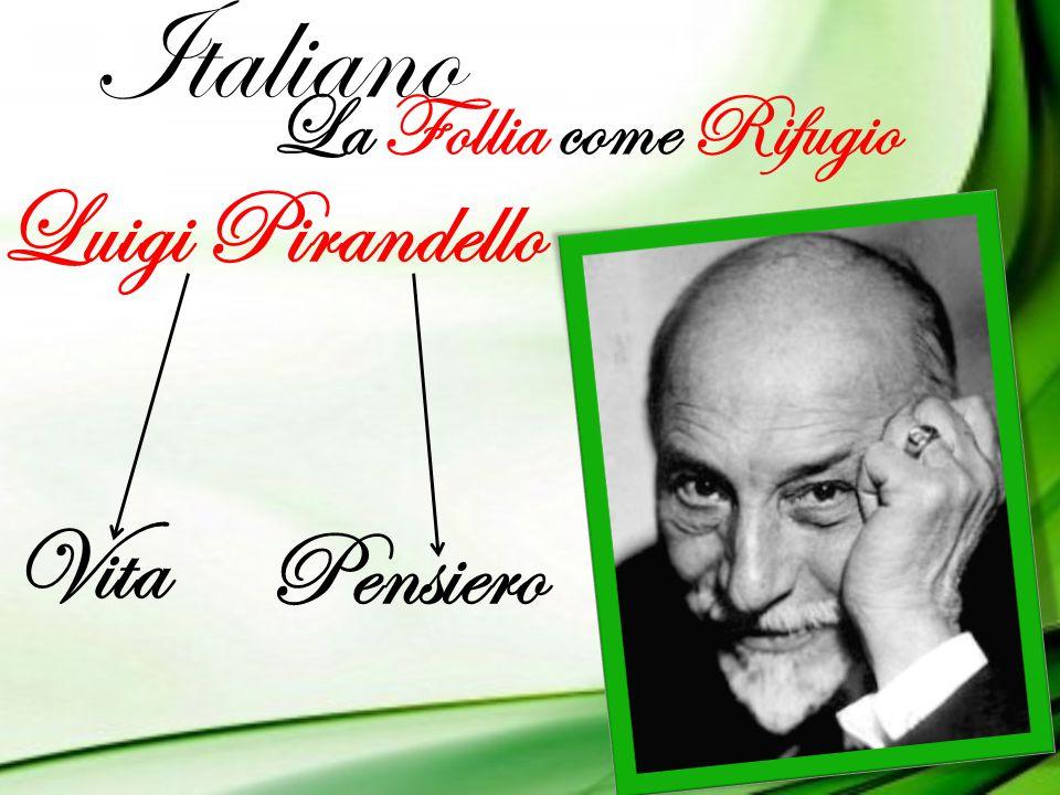 Italiano La Follia come Rifugio Luigi Pirandello Vita Pensiero