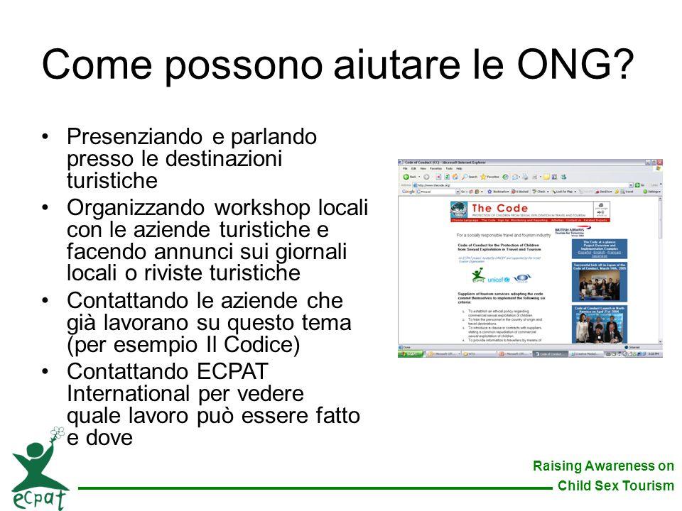 Come possono aiutare le ONG