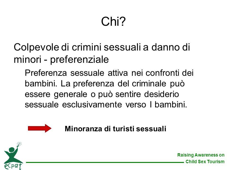 Chi Colpevole di crimini sessuali a danno di minori - preferenziale