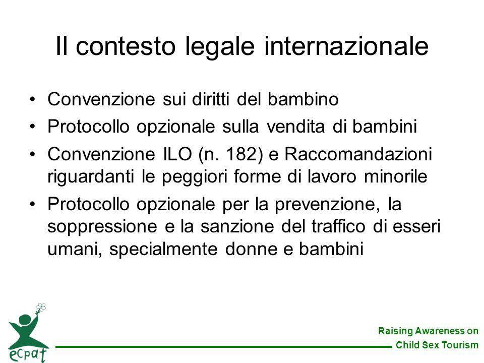 Il contesto legale internazionale