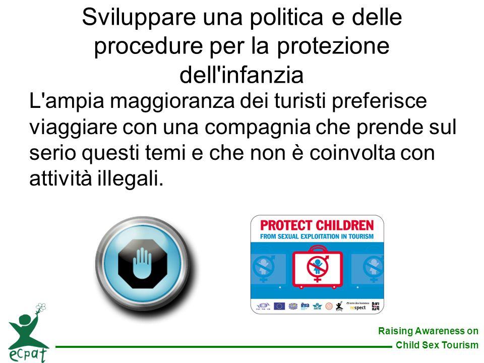 Sviluppare una politica e delle procedure per la protezione dell infanzia