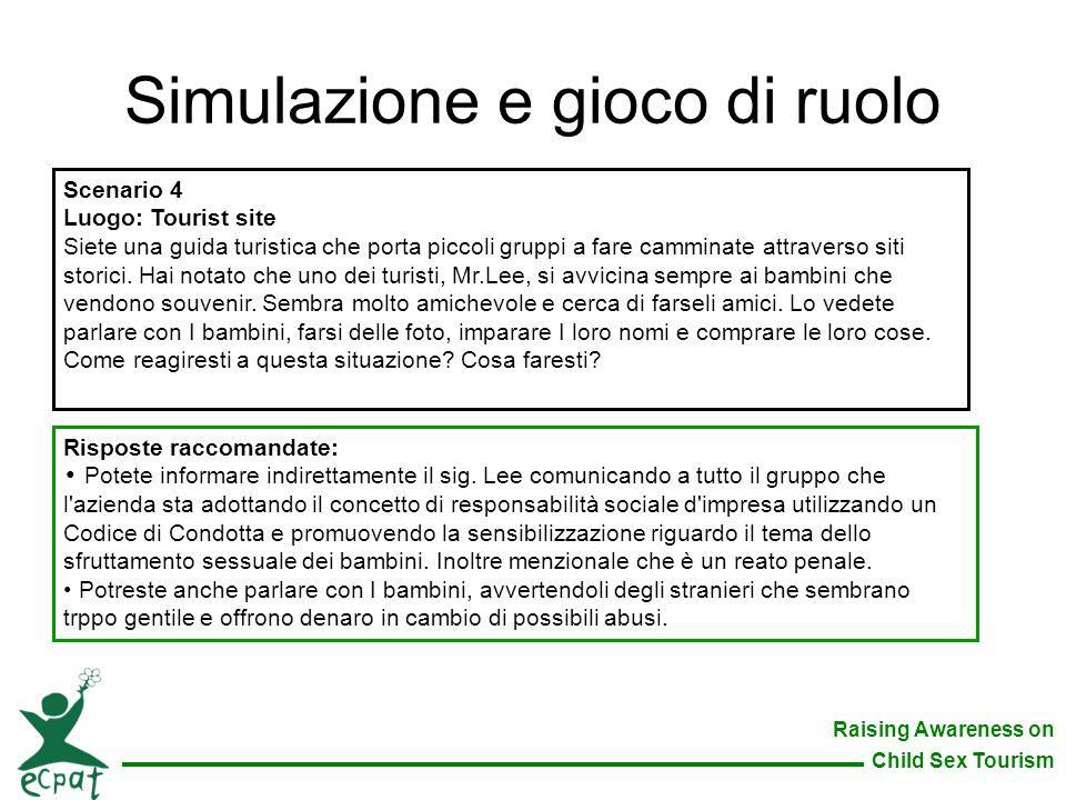 Simulazione e gioco di ruolo