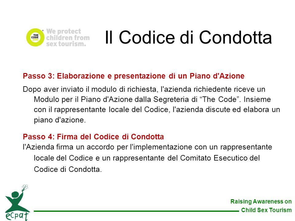 Il Codice di Condotta Passo 3: Elaborazione e presentazione di un Piano d Azione.