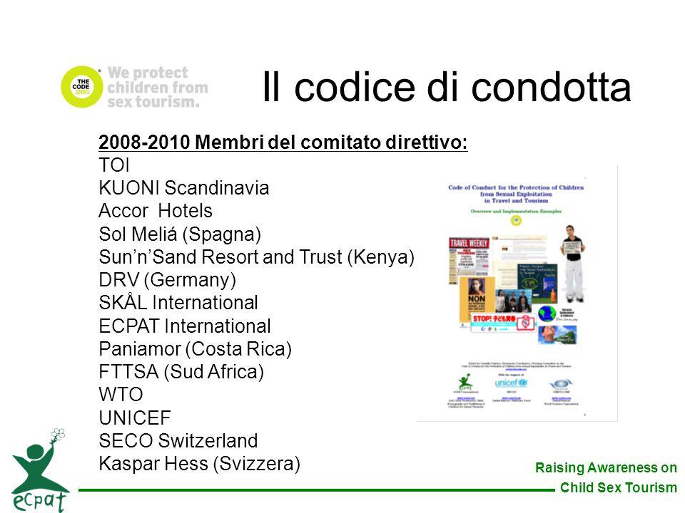 Il codice di condotta 2008-2010 Membri del comitato direttivo: TOI