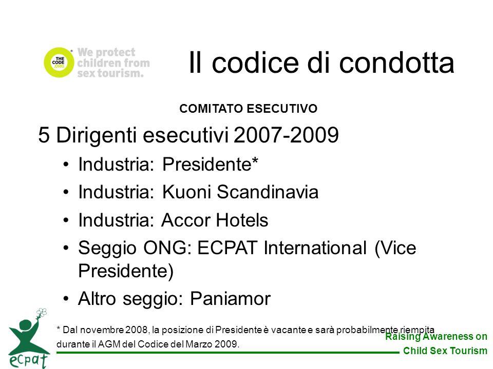 Il codice di condotta 5 Dirigenti esecutivi 2007-2009