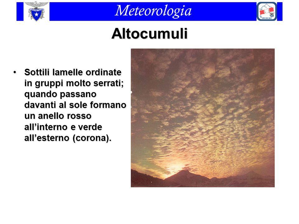 Altocumuli