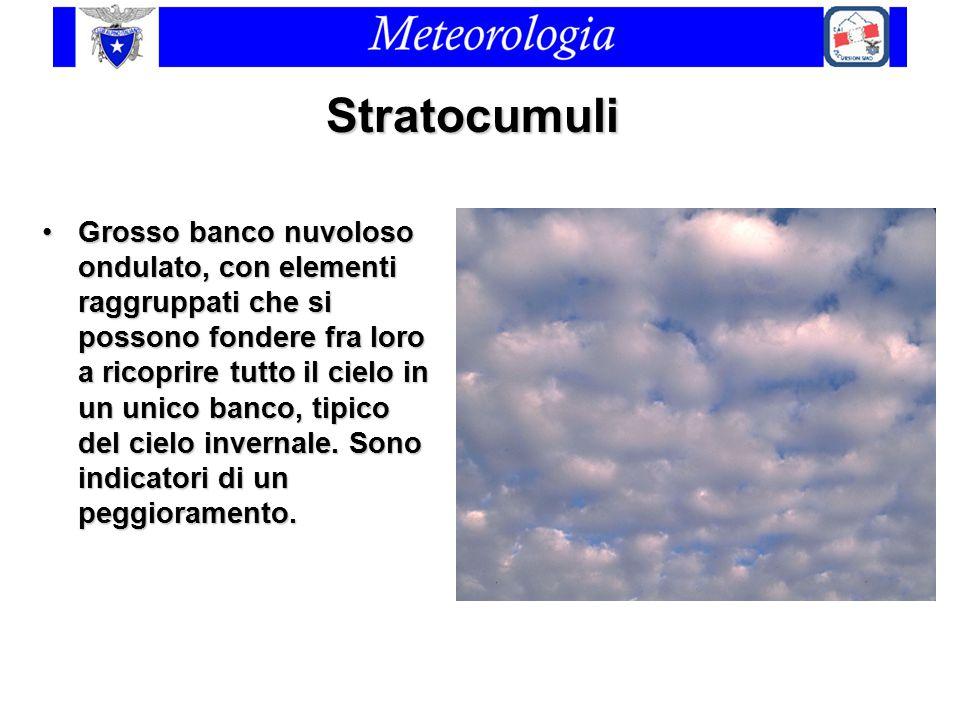 Stratocumuli