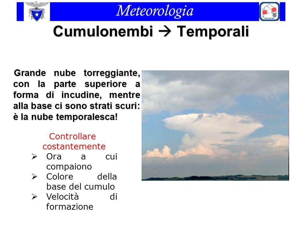 Cumulonembi  Temporali