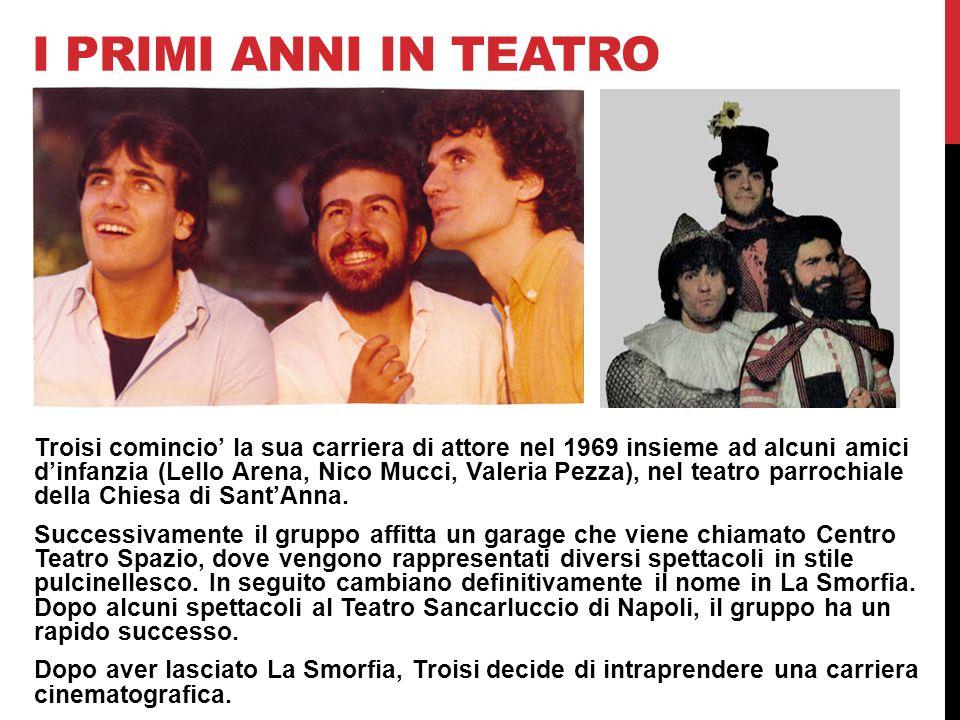 I primi anni in teatro