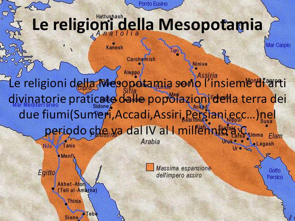 Le religioni della Mesopotamia